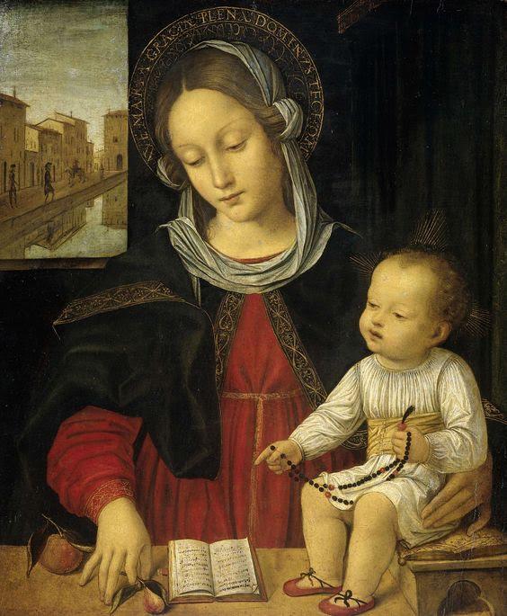 Monika Beyer W święto Matki Boskiej Różańcowej